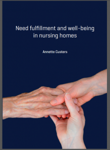 Need Fulfilment and well-being in nursing homes